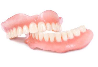 Dentures in Aurora dental office